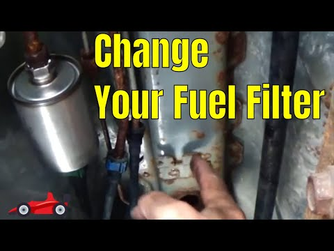 How To Change the Fuel Filter on a Chevy Malibu