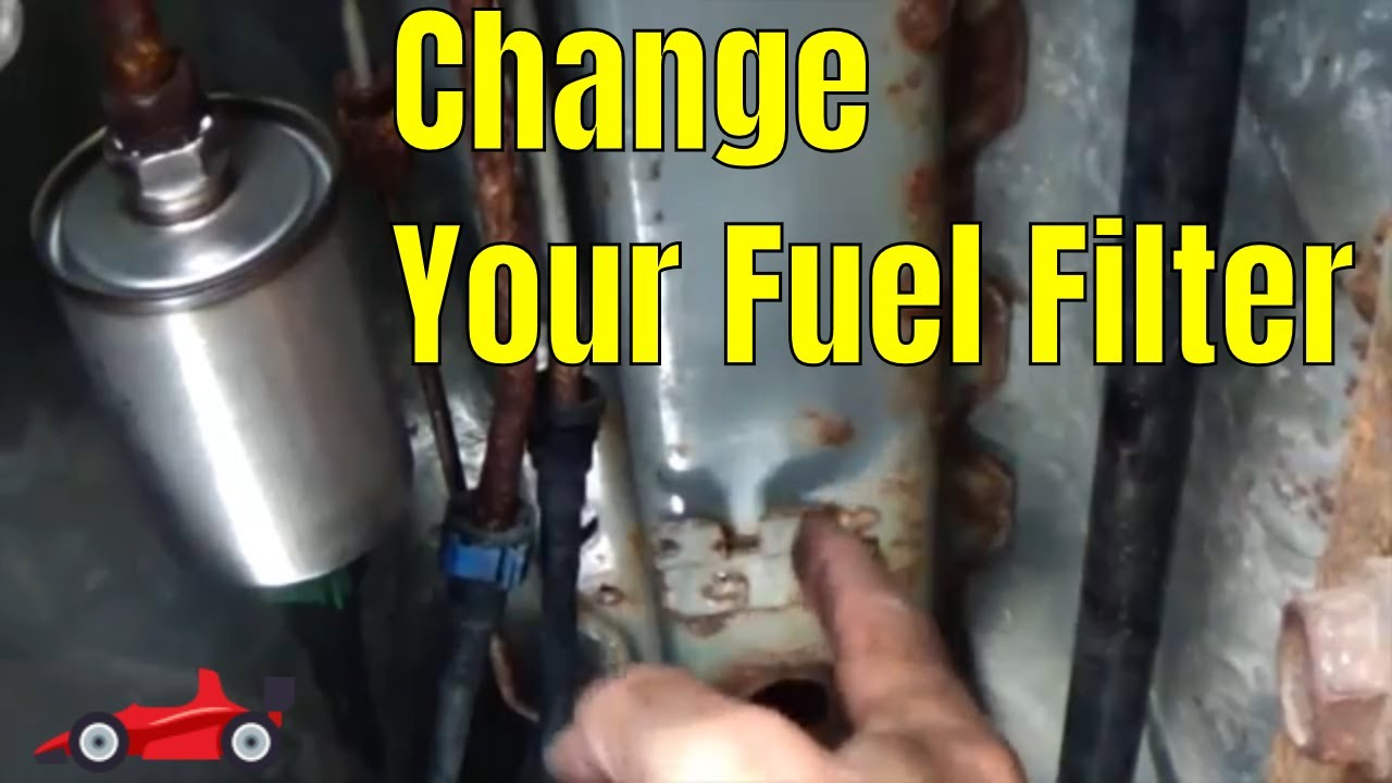 how to change the fuel filter on a chevy malibu [ 1280 x 720 Pixel ]