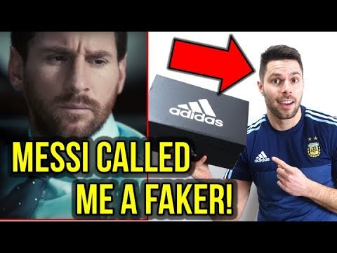7c5d2c36f47b MESSI AND ADIDAS CALLED ME A FAKER! - THIS IS MY RESPONSE - YouTube