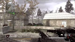 CoD Wii - How Many People Online? (Call of Duty 4 Modern Warfare Gameplay)