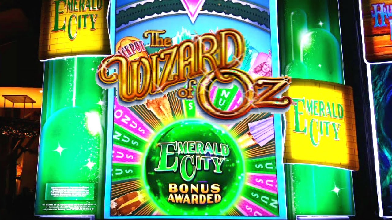 wizard of oz slot machine