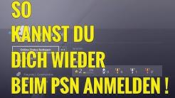 SO KANNST DU DICH WIEDER BEIM PLAYSTATION NETWORK ANMELDEN!