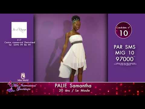 Election de Miss Guadeloupe pour Miss Monde 2017