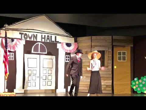 Goodman Middle School production of the Music Man