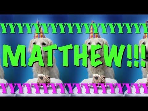 HAPPY BIRTHDAY MATTHEW! - EPIC Happy Birthday Song