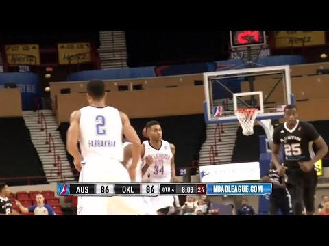 Highlights: Mustapha Farrakhan (18 points)  vs. the Spurs, 11/14/2015