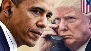 Trump vs Obama: How the U.S. president can order a wiretap on a civilian - TomoNews