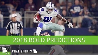 Fantasy Football Bold Predictions: Ezekiel Elliott, Amari Cooper, And Matt Ryan