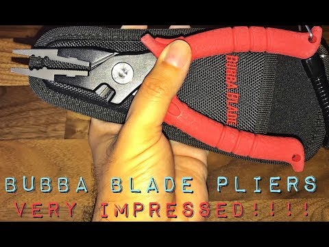 Bubba Blade Pliers Review
