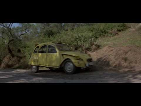 James Bond - For Your Eyes Only - 2CV Chase scene
