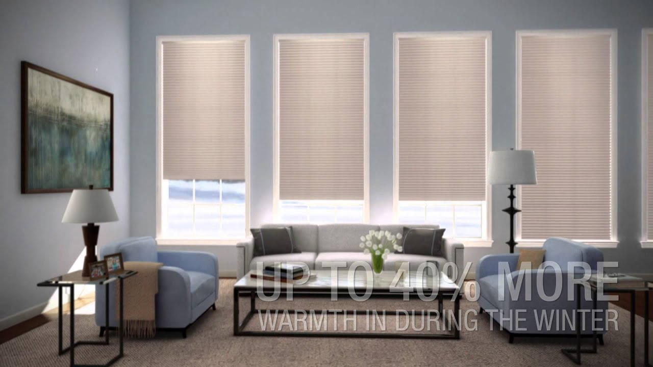 Duette® Architella Honeycomb Shades   Hunter Douglas   YouTube