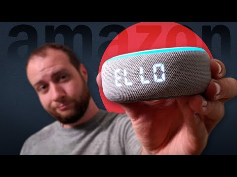Amazon's New $60 Echo Dot (with Clock): Unboxing And Full Review