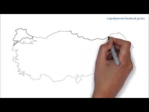 Türkiye Haritası Nasıl çizilir Youtube