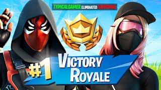 WINNING in RANDOM DUOS!! (Fortnite Season 3)