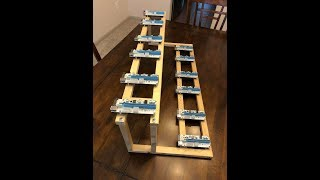 Rig building 101 - Wooden 12 GPU Mining Rig Frame