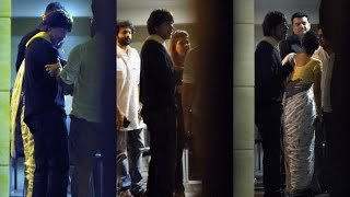 Shahrukh khan attend at aamir khan birthday party 2017