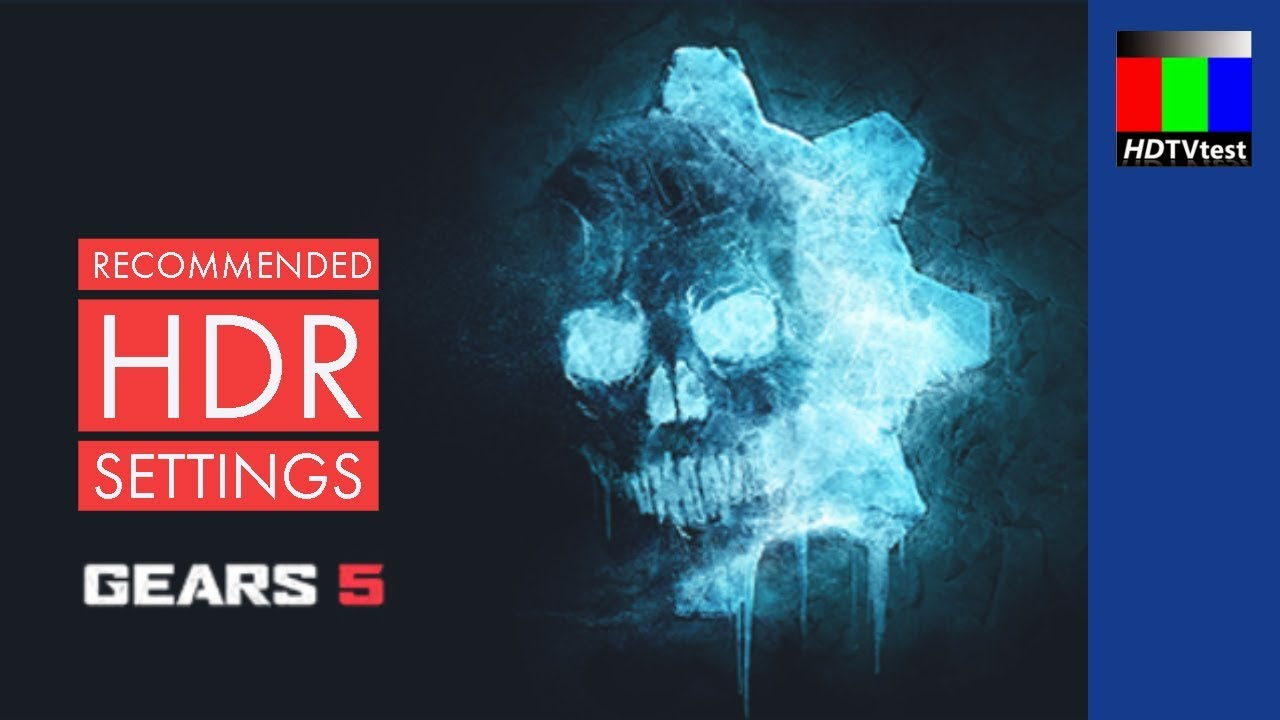 [HDR] Gears of War 5 Recommended Settings for Xbox One X & PC