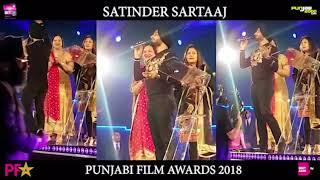 Satinder Sartaaj | Award of Outstanding Achievement at BritAsia FilmAwards| Birmingham BlackPrince