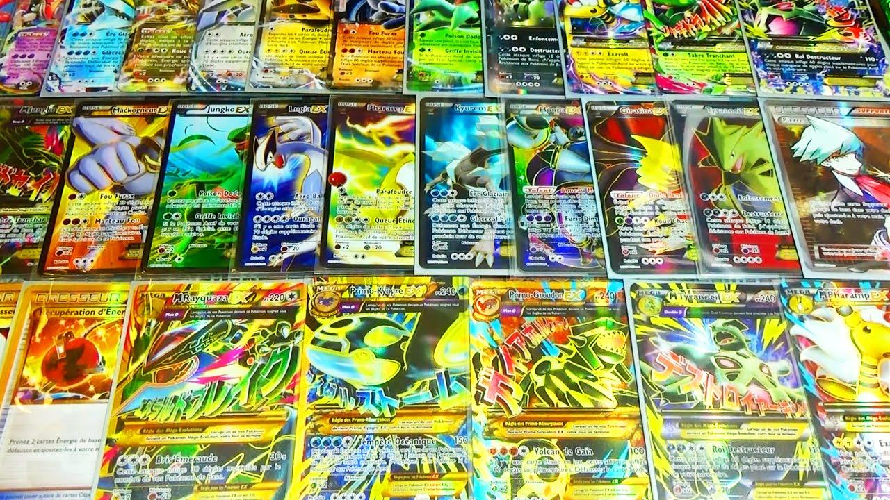 Toutes les cartes pok mon ultra rare xy7 origines antiques mega pokemon shiny ex full art - Tout les carte pokemon ex du monde ...
