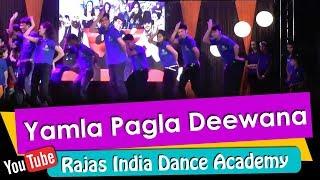 Yamla Pagla Deewana -Bollywood Dance Steps   Dharmendra, Sunny Deol, Bobby Deol