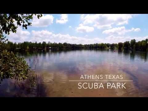 scuba diving at athens texas scuba park, gopro 4 black 1080