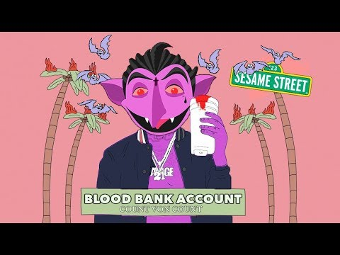 21 Savage - Bank Account but Sang by The Count from Sesame Street