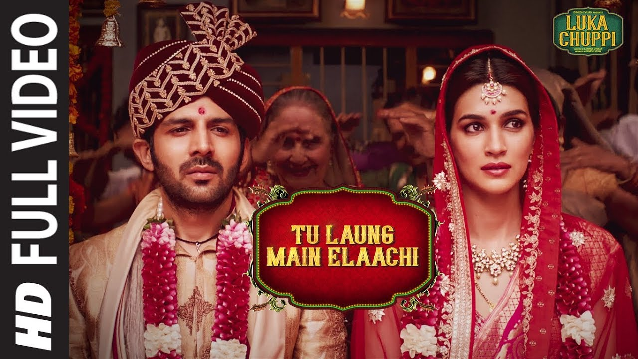 Download Luka Chuppi: Tu Laung Main Elaachi Full Video | Kartik Aaryan, Kriti Sanon | Tulsi Kumar | Tanishk B