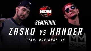 ZASKO vs HANDER BDM Gold España 2016 SEMIFINAL, Alicante