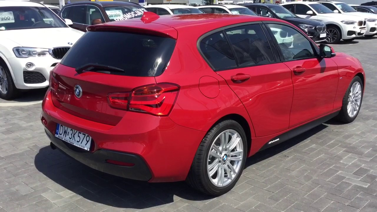 bmw f20 118i m packet red melbourne metalic dealer team sp z o o