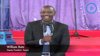 Ruto leads fundraiser at Dominion Ministries International Church, Kiserian