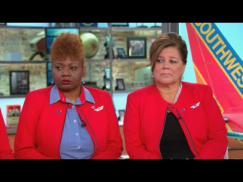 Heroic Southwest Flight 1380 crew describe moments after engine explosion