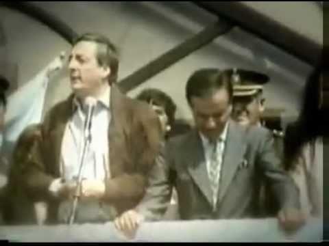 "Kirchner: ""Menem el mejor presidente desde Perón""."