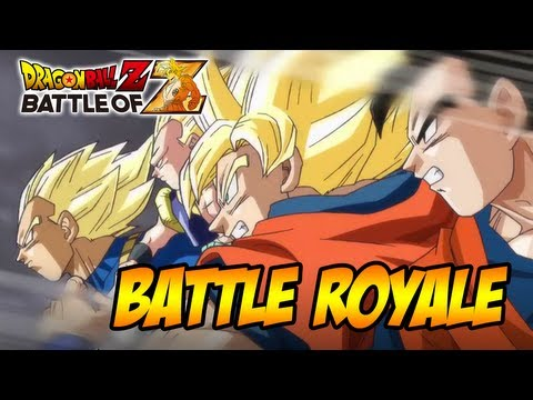 Dragon Ball Z: Battle of Z - PS3/X360/PSVITA - Battle Royal (Trailer Tokyo game Show 2013) Travel Video