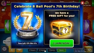 How To Get Free Box In 8 Ball Pool | Gift From Miniclip