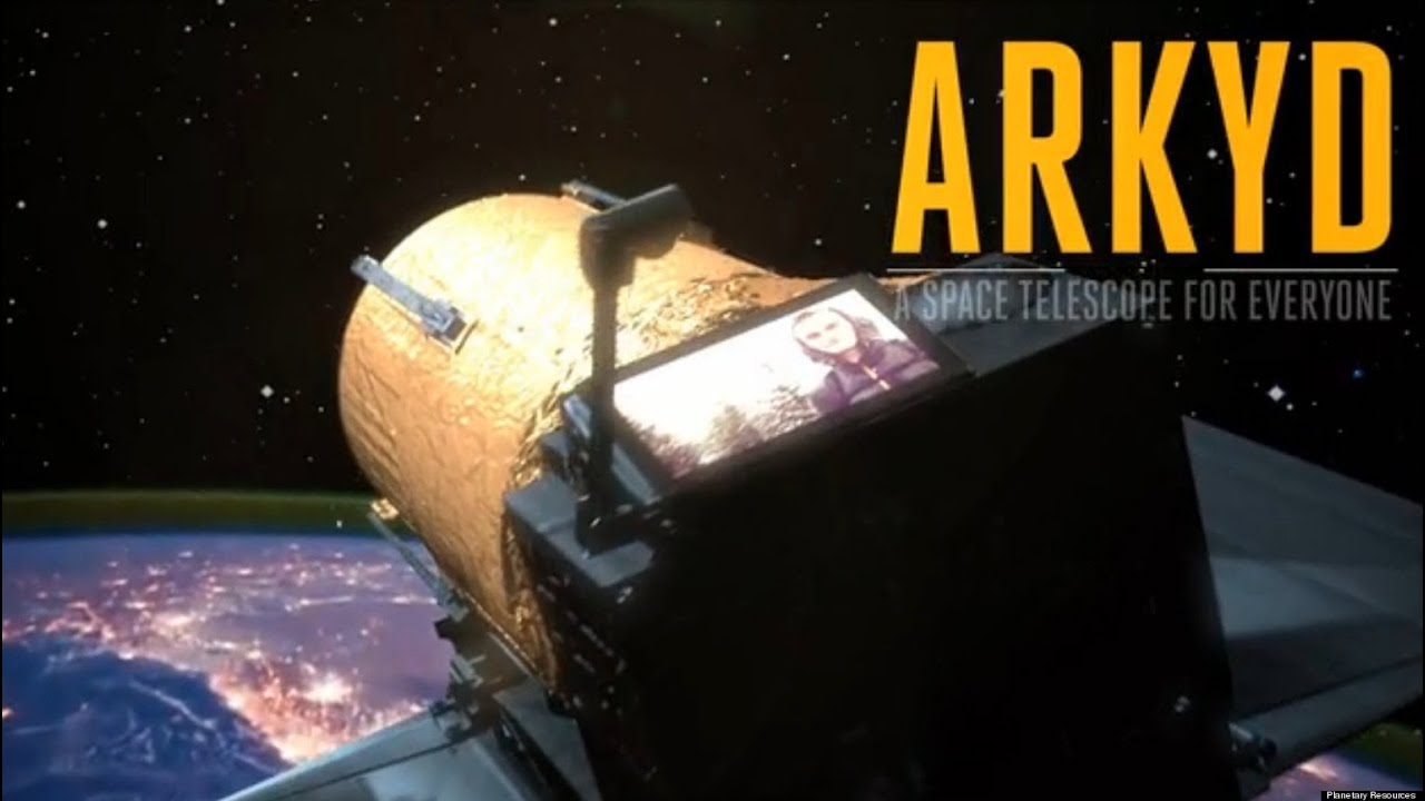 ARKYD Space Telescope Closes Crowdfunding, Zooms Past