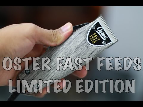 Oster Fast Feed Driftwood Limited Edition Clippers