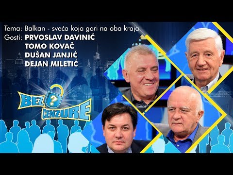 BEZ CENZURE - Prvoslav Davinić, Dušan Janjić, Dejan Miletić i Tomo Kovač