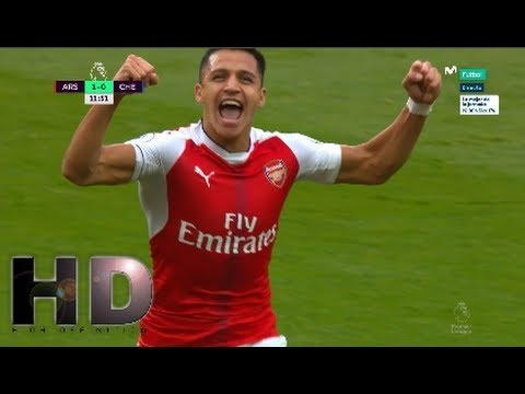Arsenal vs Chelsea 3 0 All Goals HD   Premier League 24 9 2016   YouTube