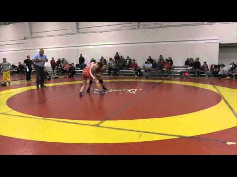 2015 Dino Invitational: 55 kg Final Vanessa Brown vs. Emily Kessler