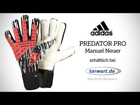 Adidas Predator Pro Manuel Neuer | Torwarthandschuhe 2018