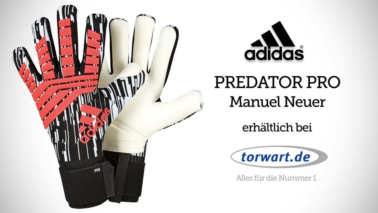 lower price with classic shoes special section Adidas Predator Pro Manuel Neuer | Torwarthandschuhe 2018