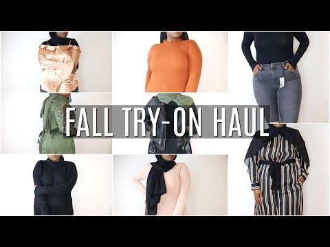 HUGE FALL TRY-ON HAUL! Forever 21, ZARA, Top Shop, All Saints + | Aysha Abdul