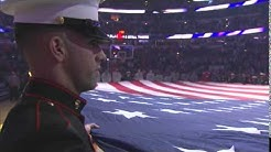 Air Force Veteran Rick Schroeder Performs the Star Spangled Banner Veterans Day 11-10-14