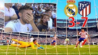 REAL MADRID 3-7 ATLETICO DE MADRID *REACCIONANDO*