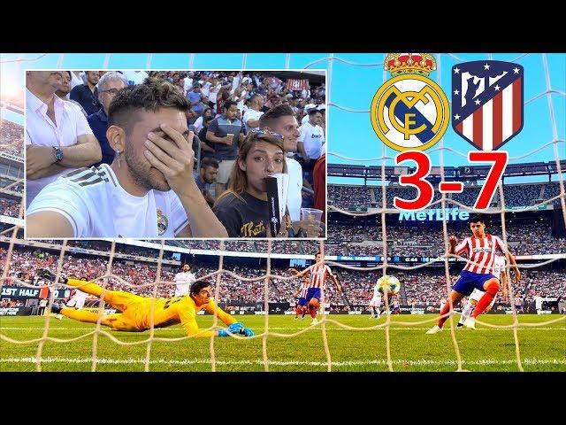 REAL MADRID 3-7 ATLETICO DE MADRID *REACCIONANDO*