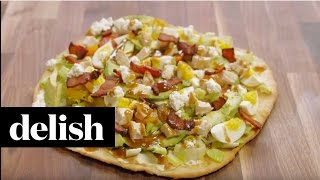 How To Make Cobb Salad Pizza