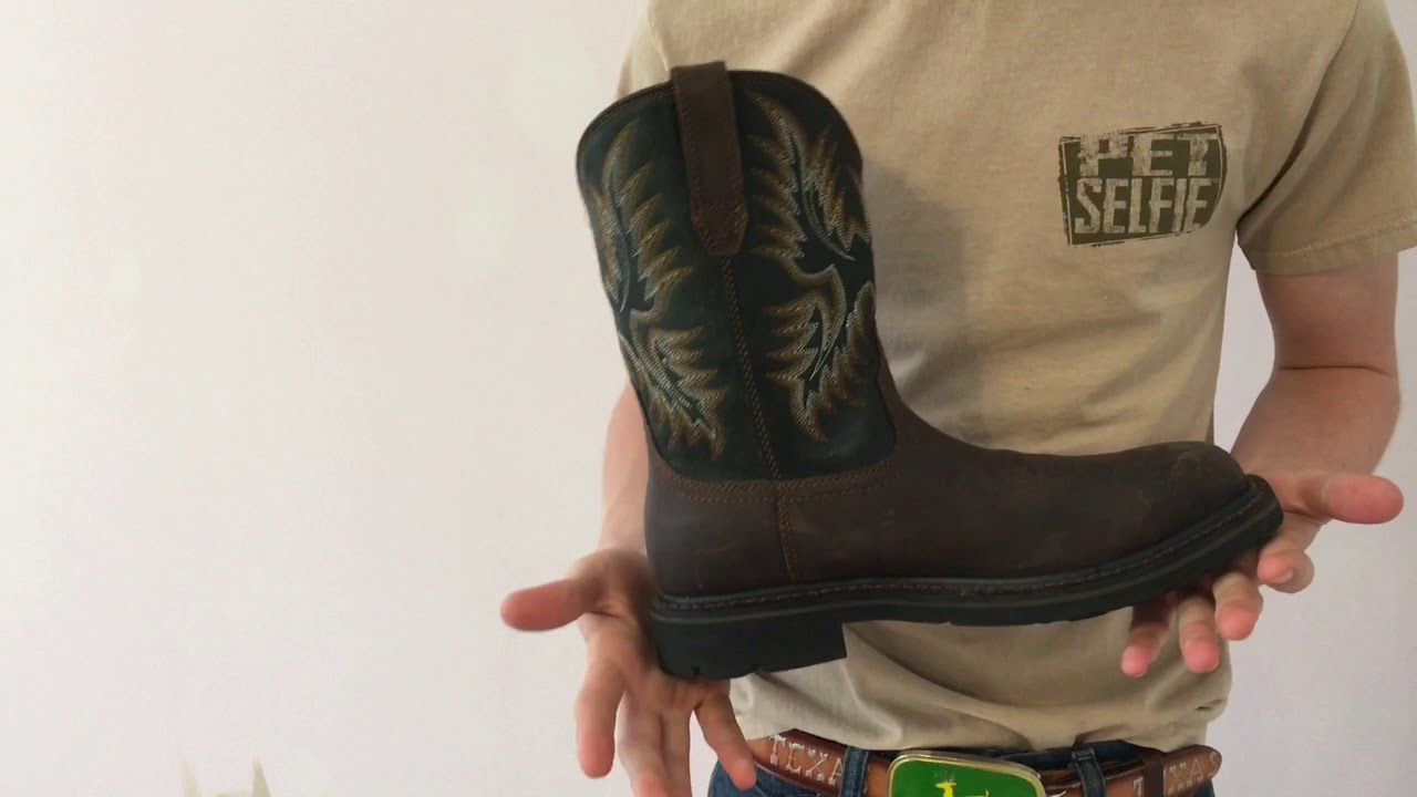 13274a2b9c1 Review Of Sierra Wide Square Toe ARIAT WORK Boot