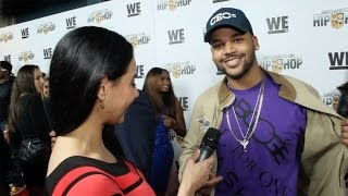 """Damon """"Boogie"""" Dash talks Chipz Cookies, Touring, Record Label """"Growing Up Hip Hop"""" Premiere in NYC"""