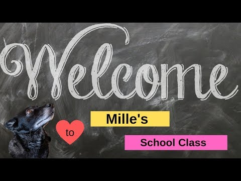 Singing Dog Mille -Welcome to my channel