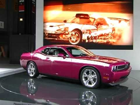 New Dodge Challenger Furious Fuchsia 2010 Youtube